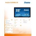 21,5'' T2235MSC-B1 DOTYK HDMI/DVI/10P