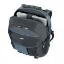 """Targus Atmosphere 17-18"""" XL Laptop Backpack - Black/Blue"""