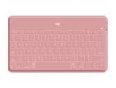 Logitech Klawiatura przenośna Keys-To-Go Blush Pink 920-010059