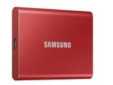 Samsung Dysk Portable T7 1TB USB3.2 GEN.2 czerwony