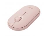 Logitech Mysz bezprzewodowa Pebble Wireless Mouse M350 różowy 910-005717