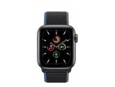 Apple Zegarek SE GPS + Cellular, 40mm koperta z aluminium w kolorze gwiezdnej szarości z opaską sportową w kolorze...