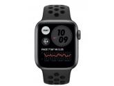 Apple Zegarek Nike SE GPS + Cellular, 44mm koperta z aluminium w kolorze gwiezdnej szarości z paskiem sportowym...