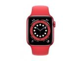 Apple Zegarek Series 6 GPS + Cellular, 44mm koperta z aluminium z edycji (PRODUCT)RED z paskiem sportowym z edycji...