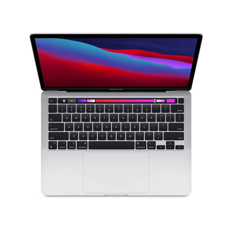 "193903 Laptop Apple MacBook Pro/13,3"" WQXGA Retina IPS/Apple M1/8 GB/512 GB SSD/Touch Bar/macOS/1 rok gwarancji/srebrny"