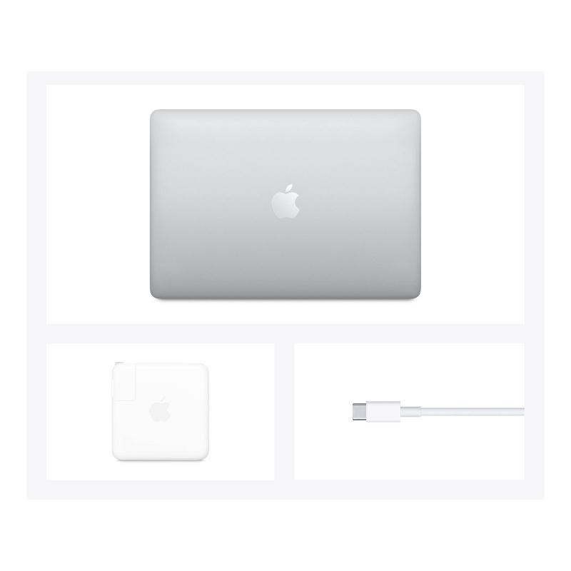 "193905 Laptop Apple MacBook Pro/13,3"" WQXGA Retina IPS/Apple M1/8 GB/512 GB SSD/Touch Bar/macOS/1 rok gwarancji/srebrny"