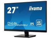 "Monitor IIYAMA ProLite XU2792UHSU-B1 27"", 4K, IPS, HDMI, DP, DVI, USB 3.0, GŁOŚNIKI, AUDIO"