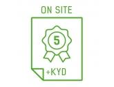 Rozszerzenie gwarancji do 5 lat On-Site NBD + Keep Your Drive (serie AiO - S, V, ThinkCentre E, M, X1)