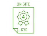 Rozszerzenie gwarancji do 4 lat On-Site NBD + Keep Your Drive (serie AiO - S, V, ThinkCentre E, M, X1)