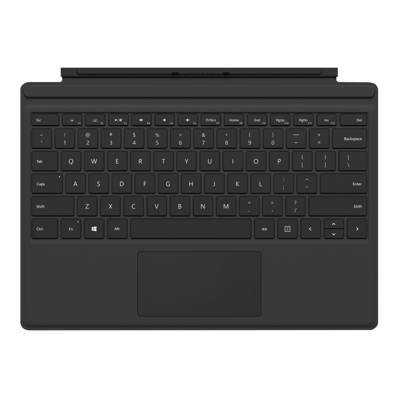 Microsoft Surface Pro Signature Type Cover Black FMN-00013 - klawiatura