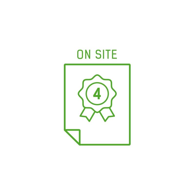 Rozszerzenie gwarancji do 4 lat On-Site