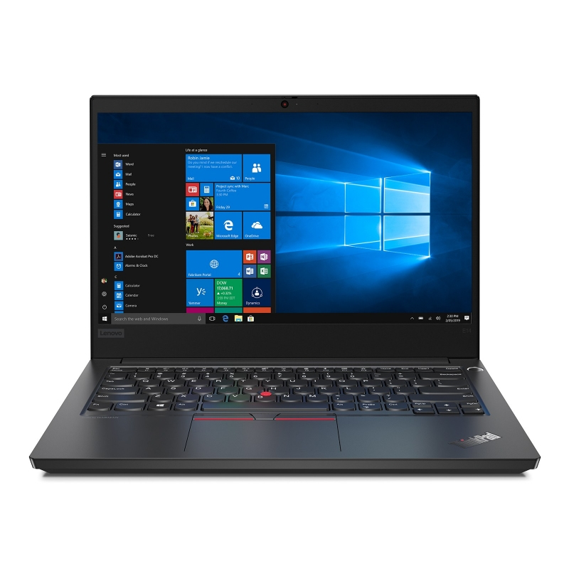 Lenovo ThinkPad E14 *14'' Full HD IPS *i5-10210U *8 GB *1 TB HDD *Win 10 Pro *1 rok carry-in