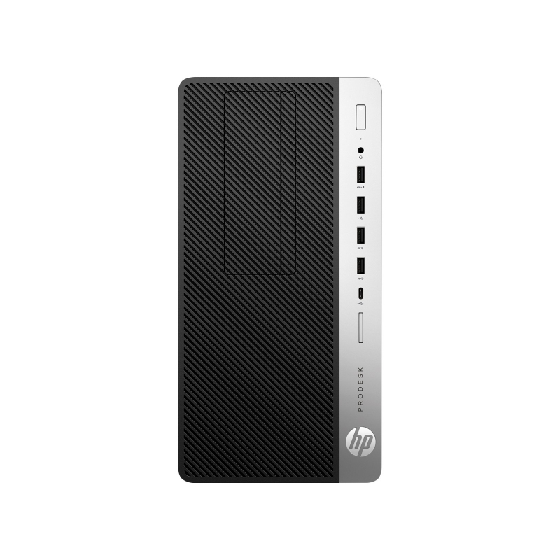 HP ProDesk 600 G5 *i3-9100 *8 GB *256 GB SSD *Micro Tower *Win 10 Pro *3 lata on-site