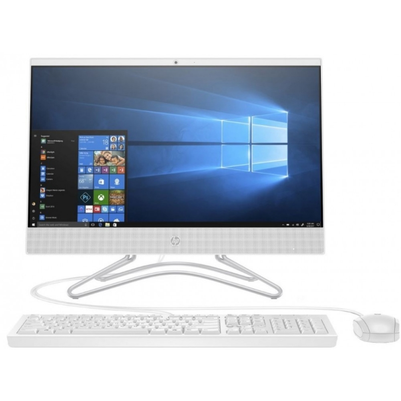 HP 200 G4 AiO *21,5'' Full HD IPS *i5-10210U *8 GB *256 GB SSD *DVD *Win 10 Pro *1 rok on-site *biały