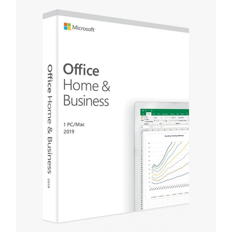 Microsoft Office 2019 Home & Business PL Box Win/Mac 32/64bit T5D-03319